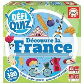 JEU DEFI QUIZ VOYAGE DECOUVRE LA FRANCE