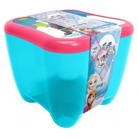 FROZEN COFFRE D'ACTIVITES 3EN1 60 PIECES REINE DES NEIGES