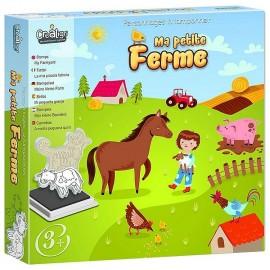 TAMPONS PETITE FERME PERSONNAGES A TAMPONNER - Jouets56.fr - Magasin jeux et jouets dans Morbihan en Bretagne