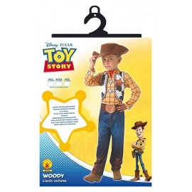 DEGUISE. WOODY CLASSIQUE 5-6 ANS TAILLE 116CM TOY STORY