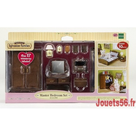 SET CHAMBRE PARENTS SYLVANIAN-jouets-sajou-56