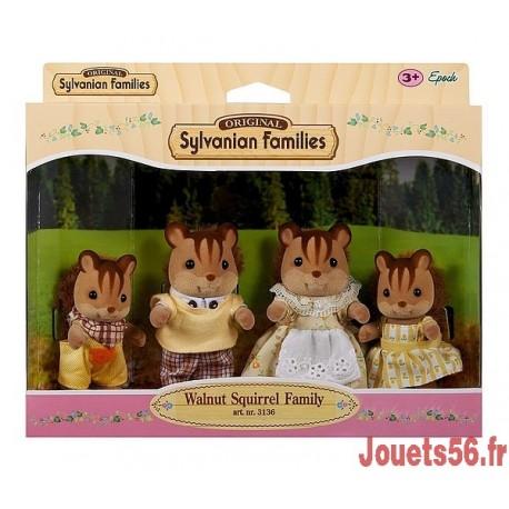 FAMILLE ECUREUIL ROUX SYLVANIAN-jouets-sajou-56