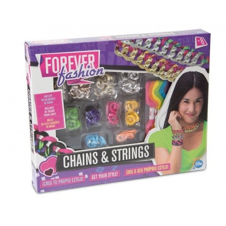 FOREVER FASHION CHAINE GROS MAILLON-jouets-sajou-56