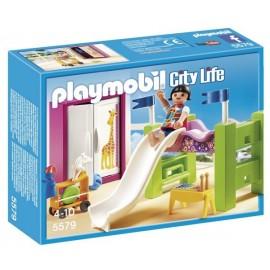 5579-CHAMBRE D'ENFANT AVEC LIT MEZZANINE-jouets-sajou-56