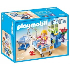6660 CHAMBRE DE MATERNITE PLAYMOBIL CITY LIFE