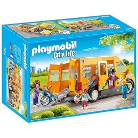 9419 BUS SCOLAIRE PLAYMOBIL CITY LIVE