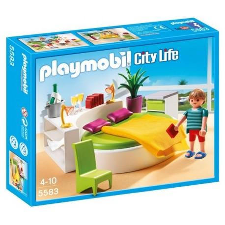 5583-CHAMBRE AVEC LIT ROND-jouets-sajou-56