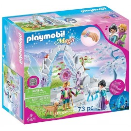9471 FRONTIERE CRISTAL DU MONDE DE L'HIVER PLAYMOBIL MAGIC