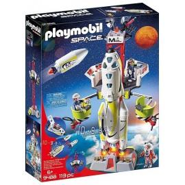 9488 FUSEE MARS AVEC PLATEFORME DE LANCEMENT PLAYMOBIL SPACE