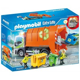 70200 CAMION DE RECYCLAGE ORDURES PLAYMOBIL CITY LIFE