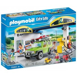 70201 STATION SERVICE PLAYMOBIL CITY LIFE
