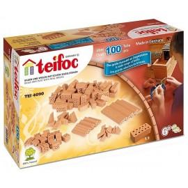 BOITE MATERIAUX EN BRIQUES 100PCES TEIFOC