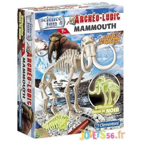 ARCHEO LUDIC MAMMOUTH - Jouets56.fr - LiloJouets - Magasins jeux et jouets dans Morbihan en Bretagne