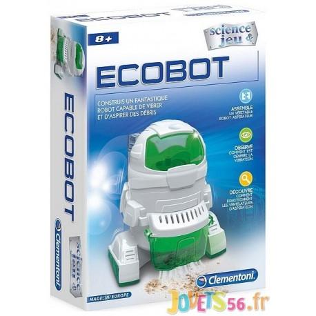 ECOBOT ROBOT ASPIRATEUR A CONSTRUIRE - Jouets56.fr - LiloJouets - Magasins jeux et jouets dans Morbihan en Bretagne