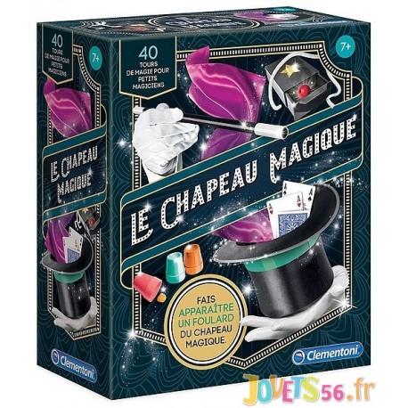 LE CHAPEAU MAGIQUE 40 TOURS DE MAGIE - Jouets56.fr - LiloJouets - Magasins jeux et jouets dans Morbihan en Bretagne