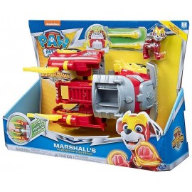 VEHICULE TRANSFORMABLE MIGHTY PUPS PAT PATROUILLE ASST