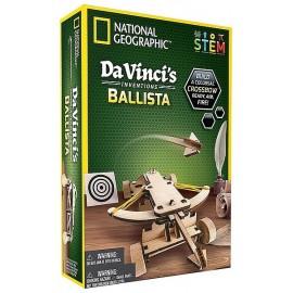 BALISTE BOIS A CONSTRUIRE LES INVENTIONS LEONARD DE VINCI