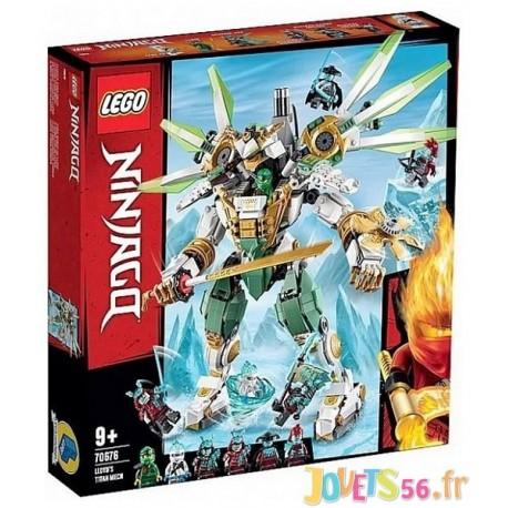70676 LE ROBOT TITAN DE LLOYD LEGO NINJAGO - Jouets56.fr - LiloJouets - Magasins jeux et jouets dans Morbihan en Bretagne