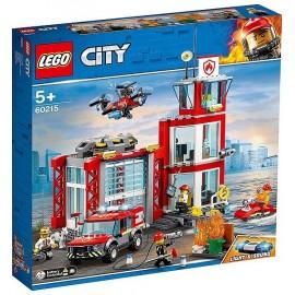 60215 LA CASERNE DE POMPIERS LEGO CITY - Jouets56.fr - LiloJouets - Magasins jeux et jouets dans Morbihan en Bretagne