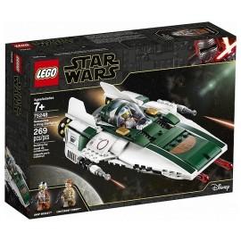 75248 A-WING STARFIGHTER DE LA RESISTANCE LEGO STAR WARS - Jouets56.fr - LiloJouets - Magasins jeux et jouets dans Morbihan en B