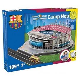 STADE 3D CAMP NOU BARCELONA PUZZLE 109PCES