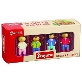 COFFRET 4 PERSONNAGES BOIS - Jouets56.fr - LiloJouets - Magasins jeux et jouets dans Morbihan en Bretagne