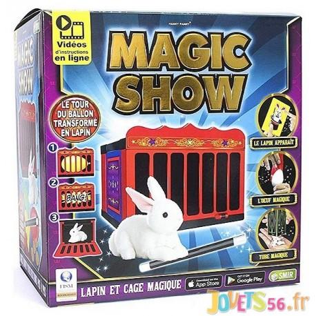 MAGIC SHOW CAGE A LAPIN MAGIQUE - Jouets56.fr - LiloJouets - Magasins jeux et jouets dans Morbihan en Bretagne