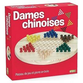 JEU DE DAMES CHINOISES EN BOIS - Jouets56.fr - LiloJouets - Magasins jeux et jouets dans Morbihan en Bretagne
