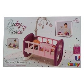 BERCEAU A BARREAU BABY NURSE - Jouets56.fr - LiloJouets - Magasins jeux et jouets dans Morbihan en Bretagne