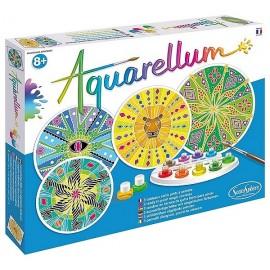 AQUARELLUM MANDALAS AFRICAINS 4 TABLEAUX 21X21CM - Jouets56.fr - LiloJouets - Magasins jeux et jouets dans Morbihan en Bretagne