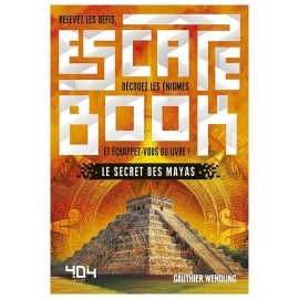 ESCAPE BOOK LE SECRET DES MAYAS 280 PAGES