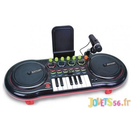 TABLE MIXAGE DJ MIXER ELECTRONIQUE AVEC MICRO - Jouets56.fr - LiloJouets - Magasins jeux et jouets dans Morbihan en Bretagne