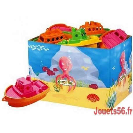 BATEAU PLASTIQUE ASSORTIS-jouets-sajou-56