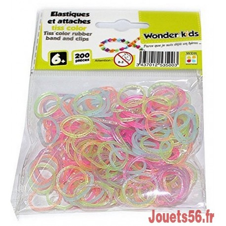 RECHARGE ELASTIQUES TISS BRACELETS-jouets-sajou-56