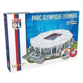 STADE 3D GROUPAMA STADIUM OLYMPIQUE LYONNAIS PUZZLE 166PCES - Jouets56.fr - LiloJouets - Magasins jeux et jouets dans Morbihan e
