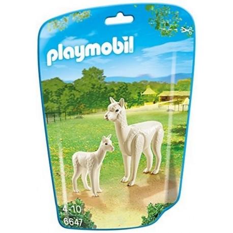 6647 ALPAGA ET SON PETIT-jouets-sajou-56