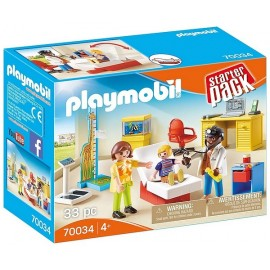 70034 STARTER PACK CABINET DE PEDIATRE PLAYMOBIL