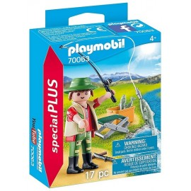 70063 PECHEUR A LA LIGNE SPECIAL PLUS PLAYMOBIL - Jouets56.fr - LiloJouets - Magasins jeux et jouets dans Morbihan en Bretagne