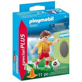 70157 JOUEUR DE FOOT ET BUT SPECIAL PLUS PLAYMOBIL - Jouets56.fr - LiloJouets - Magasins jeux et jouets dans Morbihan en Bretagn