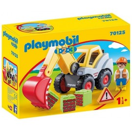 70125 PELLETEUSE PLAYMOBIL 1.2.3