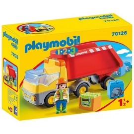 70126 CAMION BENNE PLAYMOBIL 1.2.3