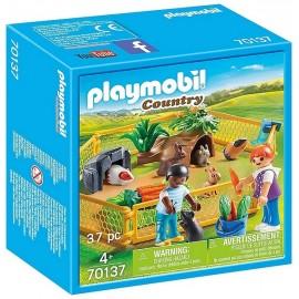70137 ENFANTS AVEC PETITS ANIMAUX PLAYMOBIL COUNTRY - Jouets56.fr - LiloJouets - Magasins jeux et jouets dans Morbihan en Bretag
