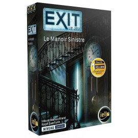 JEU EXIT LE MANOIR SINISTRE ESCAPE GAME NIVEAU CONFIRME