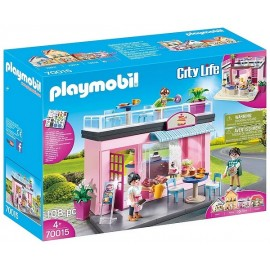 70015 SALON DE THE CITY LIFE PLAYMOBIL
