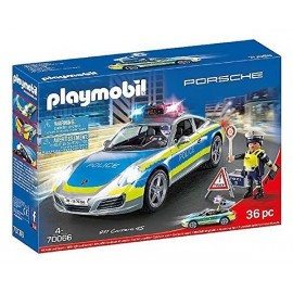 70066 PORSCHE 911 CARRERA 4S POLICE PLAYMOBIL