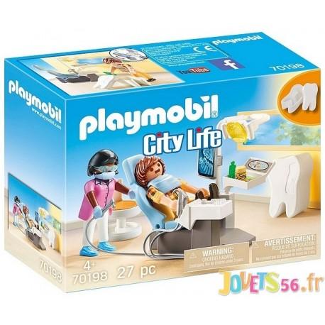 70198 DENTISTE PLAYMOBIL CITY LIFE - Jouets56.fr - LiloJouets - Magasins jeux et jouets dans Morbihan en Bretagne