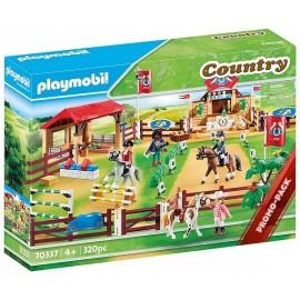 70337 CENTRE D'ENTRAINEMENT POUR CHEVAUX PLAYMOBIL COUNTRY