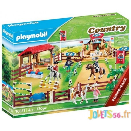 70337 CENTRE D'ENTRAINEMENT POUR CHEVAUX PLAYMOBIL COUNTRY - Jouets56.fr - LiloJouets - Magasins jeux et jouets dans Morbihan en