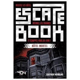 ESCAPE BOOK HOTEL MORTEL 236 PAGES