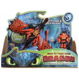 PACK DRAGON ET FIGURINE VIKING ARTICULES FILM DRAGONS3 ASST